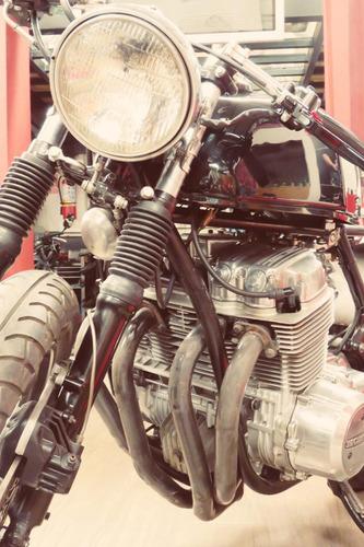 honda cb750 fourk 1974 café racer