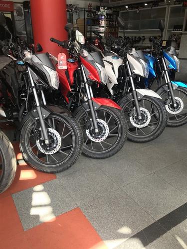 honda cbf 125 0km todo los colores reggio motos