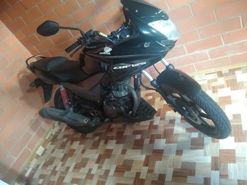 honda cbf 125 negra