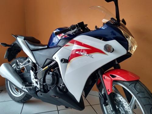 honda cbr 250 r 2012 azul