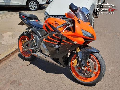 honda cbr 600 rr laranja 2006