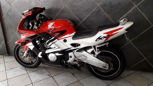 honda cbr 600 vermelha 1997