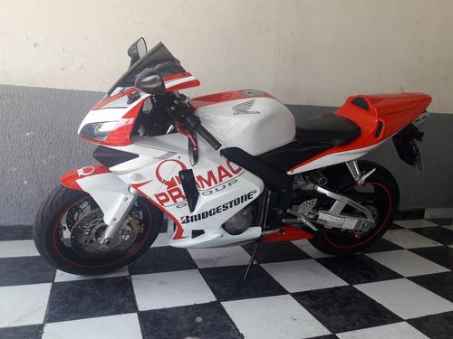 honda cbr 600rr 2004 vermelha impecável tebi motos