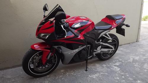 honda cbr 600rr 2007 vermelha