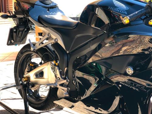 honda cbr 600rr 2012 - raridade com vários acessórios novos