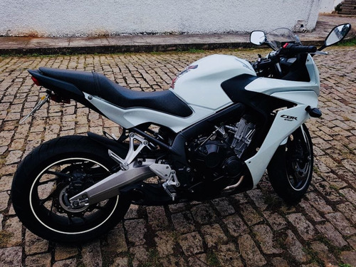 honda cbr 650cc branco