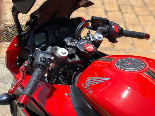 honda cbr 650f std 2015 - vários acessórios novos