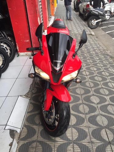 honda cbr600rr ano 2008 vermelha