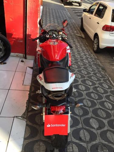 honda cbr600rr ano 2012 vermelha