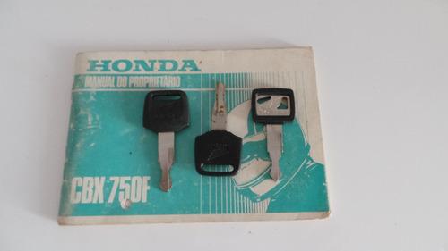 honda cbx 750 f 1989 impecavel pneus novos baixa km