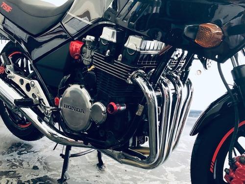 honda cbx 750f - red - black - indy - 1993  espetacular