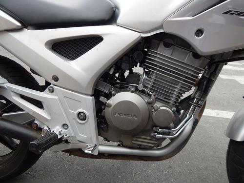 honda cbx twuister 250 prata 2006 muito nova!!!