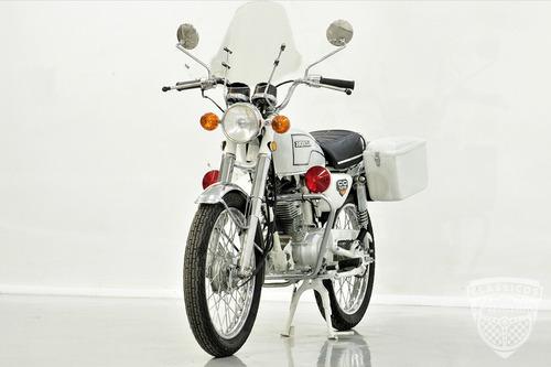 honda cg 125 1978 78 - policial - antiga - bolinha original
