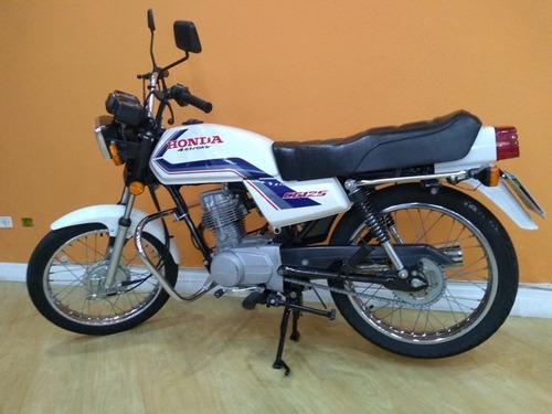 honda cg 125 1983 branca