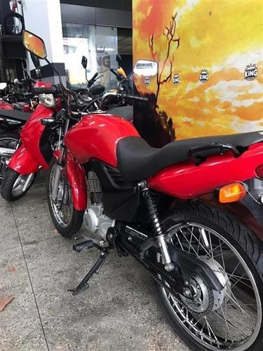 honda cg 125 fan es 2012 vermelha - king motos