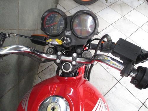 honda cg 125 fan ks vermelha 2013