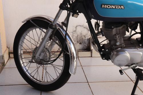 honda cg 125cc  - bolinha - 1980