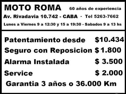 honda cg 150 18ctas$9.259 consultar contado motoroma