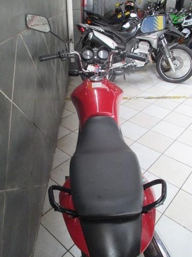 honda cg 150 fan esdi vermelha 2013