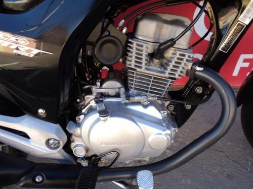 honda cg 150 start 2015 preta alessandro motos