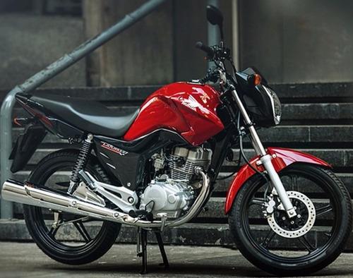 honda cg 150 titan 0 km rojo-negro-blanco