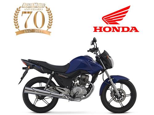 honda cg 150 titan 0km 2017 negra roja azul avant motos