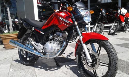 honda cg 150 titan 0km ahora 12/18 financiada centro motos