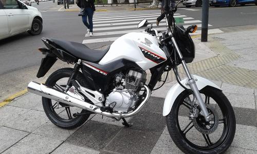 honda cg 150 titan 0km ahora12/18 centro motos...