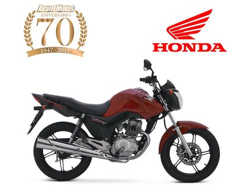 honda cg 150 titan 2017 0 km avant motos