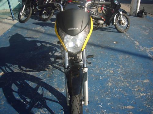 honda cg 150 titan ex ano 2013 amarela r$ 7.599,00 baixo km