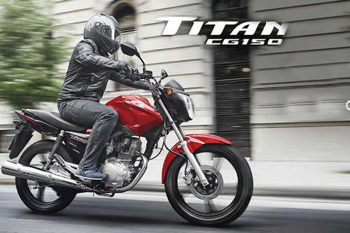 honda cg 150 titan modelo/año 2019 okm