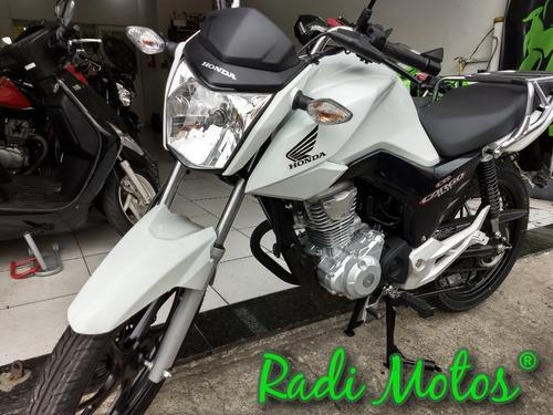 honda cg 160 cargo esd freios combinado cbs linda moto 2019