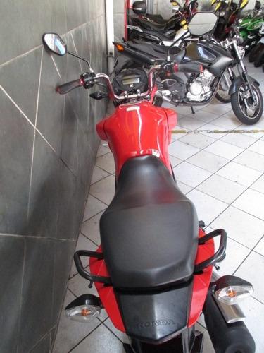honda cg 160 fan 2016 vermelha
