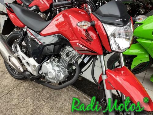 honda cg 160 fan esdi flex one freios combinados