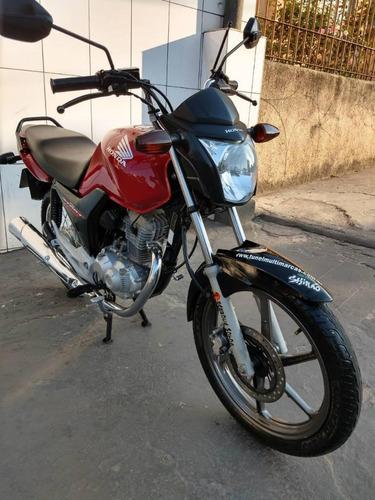 honda cg-160 start c/ roda e disco