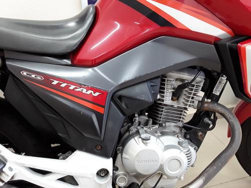 honda cg 160 titan ex 16/16 freios cbs injeção eletronica