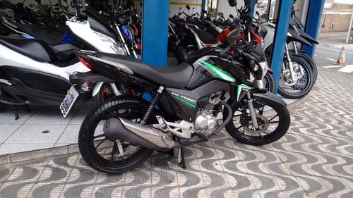 honda cg 160 titan ex 2017 1200km moto slink