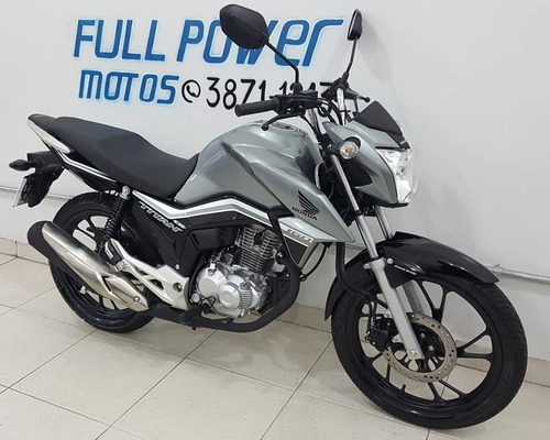 honda cg 160 titan ex cinza 2019