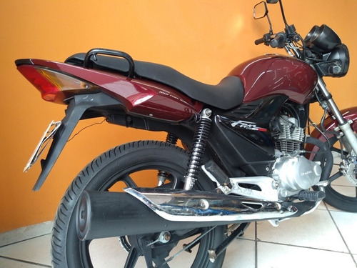 honda cg fan 150 esdi 2011 vermelha