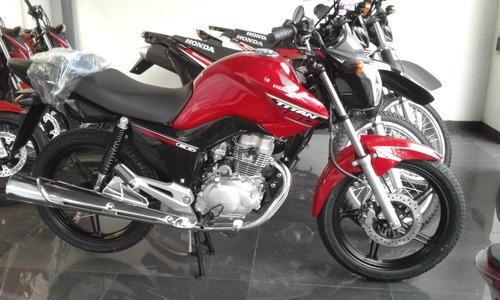honda cg new titan 0km - power bikes