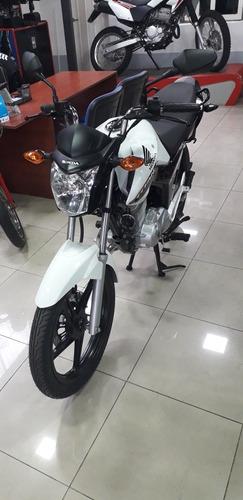 honda cg titan 150 blanca 0km financiopermuto qr motors