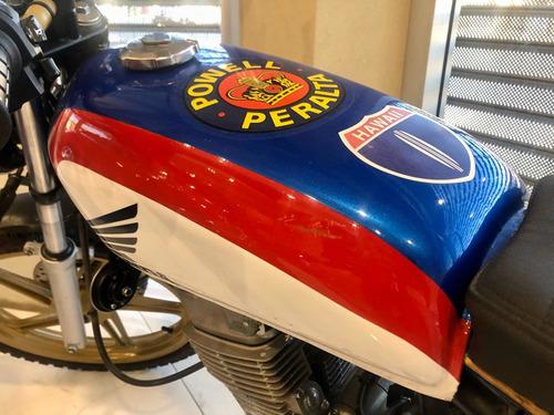 honda cg titán 150cc modificada cafe racer año 2017 =0km