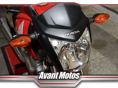 honda cg150 new titan roja 2018 0km avant motos