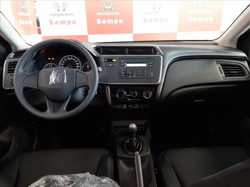 honda city 1.5 dx 16v flex manual 4p 2020/2020 0km