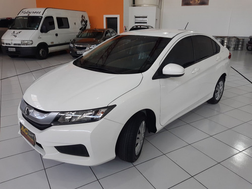 honda city 1.5 dx flex aut 2017/2017 branco aut compl 29km