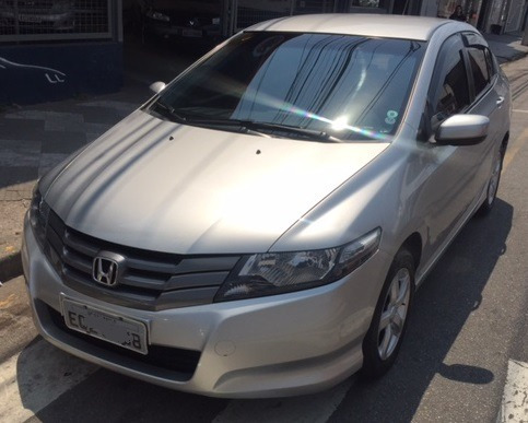 honda city 1.5 dx  flex automatico. 4p