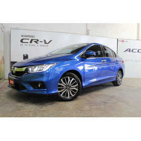 Honda City 1.5 Ex At Cvt Azul 2018