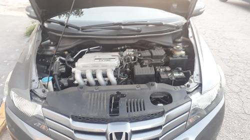 honda city 1.5 ex automático flex 4p - baixo km - 2010