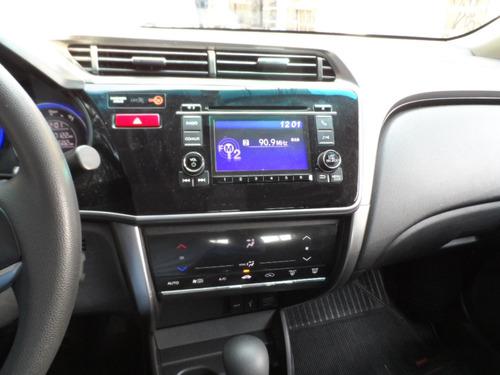 honda city 1.5 ex flex aut. 4p, único dono