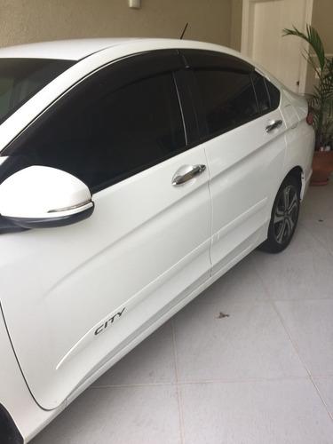 honda city 1.5 exl flex aut. 4p, única dona, revisado!!